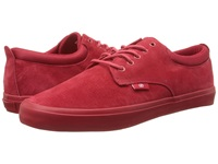 Radii The Jax Red Red Suede Men's Shoes