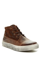 Rogue Beat Leather Sneaker Brown