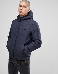 Only And Sons Quilted Jacket Dark Navy
