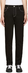 Moschino Black Slim Fit Jeans