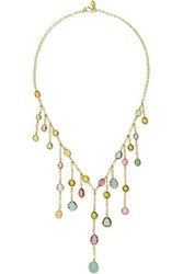 Pippa Small 18 Karat Gold Tourmaline Necklace