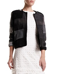 Svilu Color Blocked Jacket Grey Multi