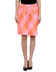 Marc By Marc Jacobs Knee Length Skirts Azure