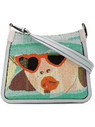 Marco De Vincenzo Starry Bag With Dolores Micro Beads Multicolour