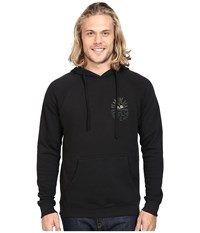 Roark Fear The Sea Hooded Fleece Black Men's Sweatshirt