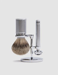 Baxter Of California De Safety Razor Set Silver