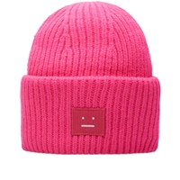 Acne Studios Pansy Wool Beanie Pink