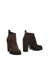 Roberto Festa Ankle Boots Dark Brown