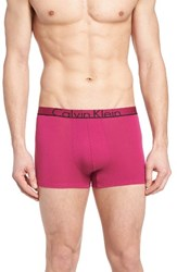 Calvin Klein Men's Id Stretch Cotton Trunks Wild Pink