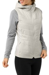 Smartwool Smartloft 60 Insulated Hooded Vest Silver Birch