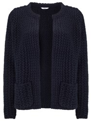 Dash Edge To Edge Knit Cardigan Navy