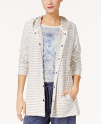 Styleandco. Style Co. Striped Hooded Jacket Only At Macy's Summer Straw