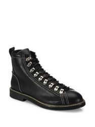 Givenchy Round Toe Ankle Boots Black
