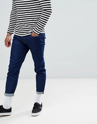 Lee Arven Skater Cropped Jeans Rinse Wash Roxi Rinse Blue