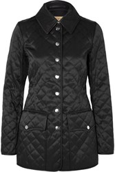 Burberry Quilted Shell Jacket Black