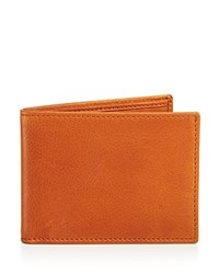 Bloomingdale's The Men's Store At Smooth Leather Bifold Wallet Cuoio Brown