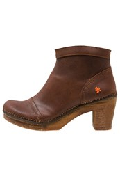Art Amsterdam Ankle Boots Plumb Brown