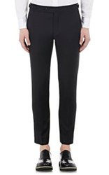 Brooklyn Tailors Men's Twill Trousers Black