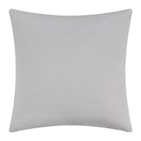 Amara Diamond Textured Cushion 50X50cm Silver