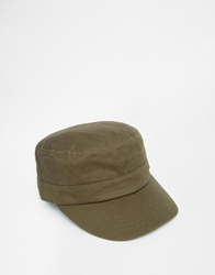 Fred Perry Train Driver Cap Green