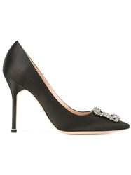 Manolo Blahnik Hangisi Pumps Black