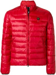 Blauer Padded Jacket Red