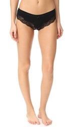 Honeydew Intimates Haley Lace Thong Black