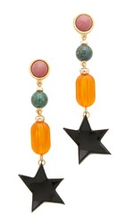 Lizzie Fortunato Retro Holiday Earrings Multi