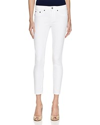 Jean Shop Patty Skinny Crop Jeans In White