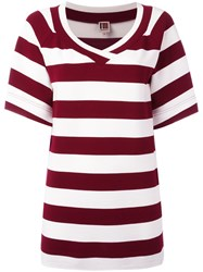 I'm Isola Marras Striped Top Red
