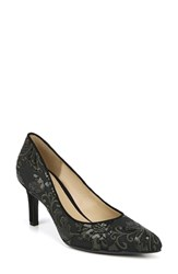 Naturalizer Natalie Pointy Toe Pump Fern Green Embroidered