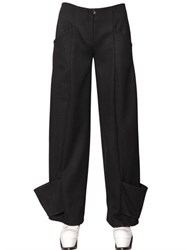 J.W.Anderson Cuffed Wool Trousers