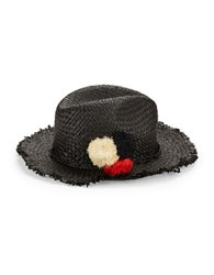 Echo Casablanca Woven Hat Black