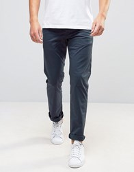 New Look Slim Fit Chinos In Navy Navy