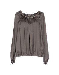 P.A.R.O.S.H. Shirts Blouses Women Grey