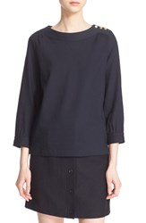 A.P.C. Women's 'Casablanca' Boatneck Blouse