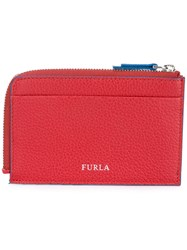 Furla Giove Credit Card Holder Men Calf Leather One Size