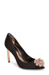 Ted Baker London Peetch 2 Pump Black Satin