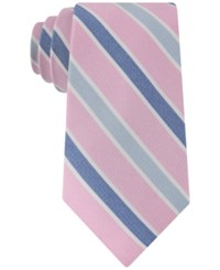 Club Room Men's Gypsy Classic Stripe Tie Only At Macy's Pink