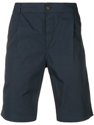 Universal Works Classic Chino Shorts Blue