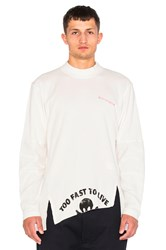 Vivienne Westwood Too Fast To Live T Shirt White