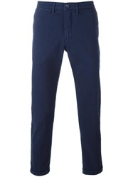 Re Hash Slim Fit Chinos Blue