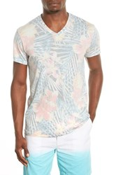 Men's Sol Angeles 'Botanica' Graphic Print V Neck T Shirt