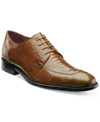Stacy Adams Pisa Moc Toe Shoes Men's Shoes Mustard