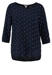 Tom Tailor Denim Blouse Real Navy Blue Dark Blue