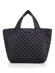 M Z Wallace Metro Small Quilted Nylon Tote