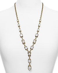 Sorrelli Crystal Y Necklace 26 Antique Gold