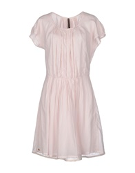 Manila Grace Short Dresses Light Pink