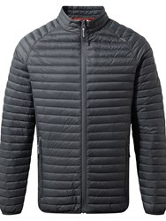 Craghoppers Men's Venta Lite Hybrid Water Resistant Jacket Grey Marl