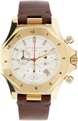 Givenchy Brown And Gold Five Watch